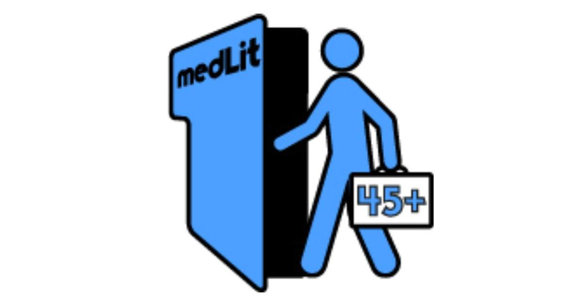 MedLit45+ project logo