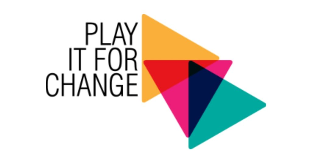 "Logo of project ""Play it for Change"""