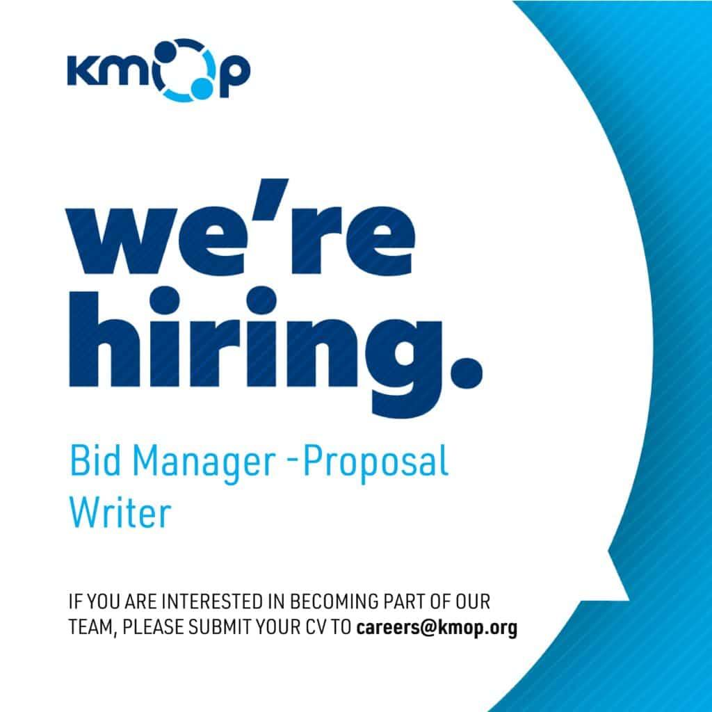 Bid Manager - Proposal Writer